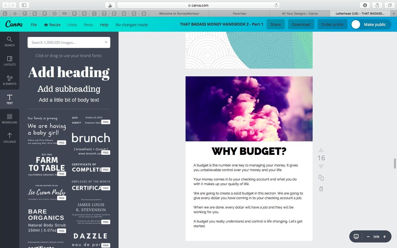 That Badass Money Handbook Screenshot