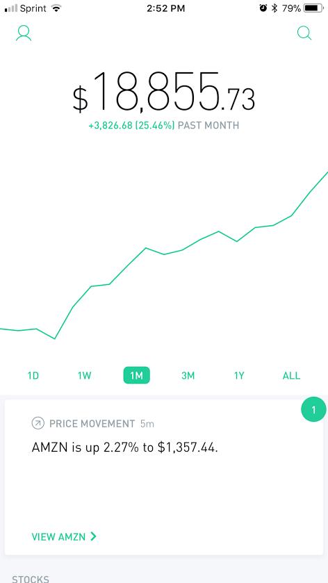 THAT BADASS STOCK PORTFOLIO UP 25% IN 1 MONTH