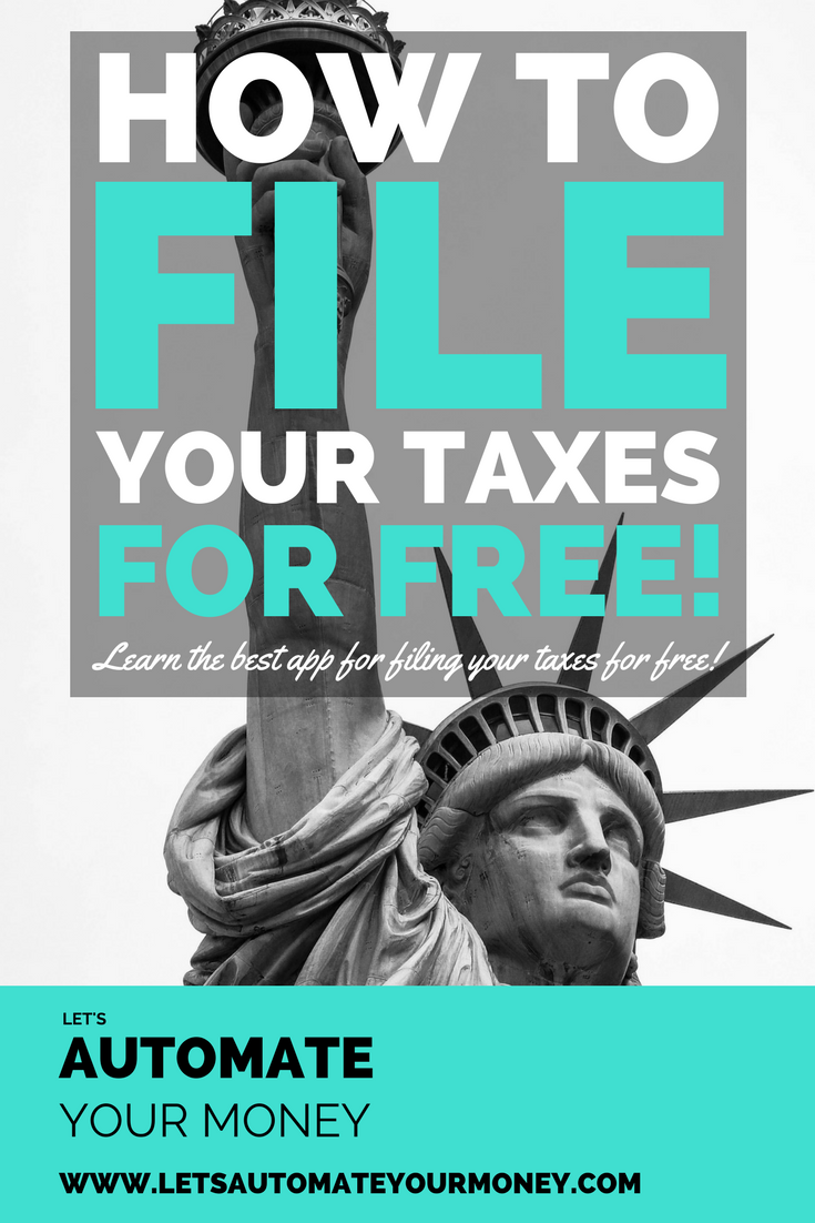 How to File Your Taxes for Free