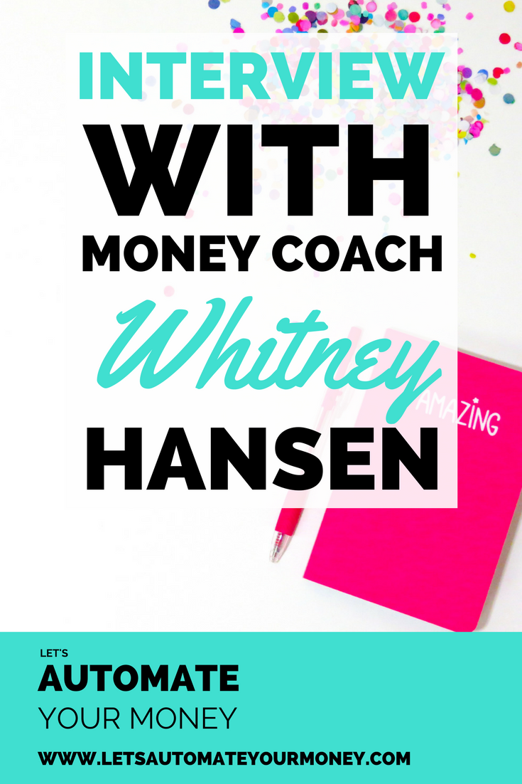 Interview with Money Coach Whitney Hansen