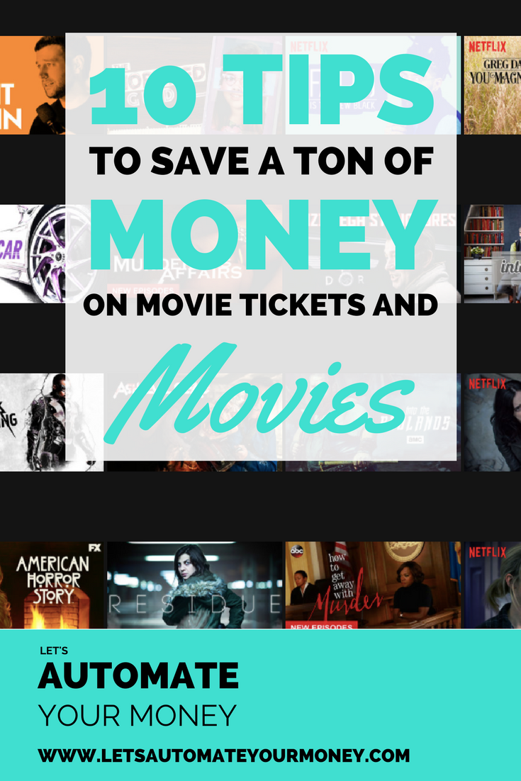 10 Ways to Save a Ton of Money on Movie Tickets and Movies