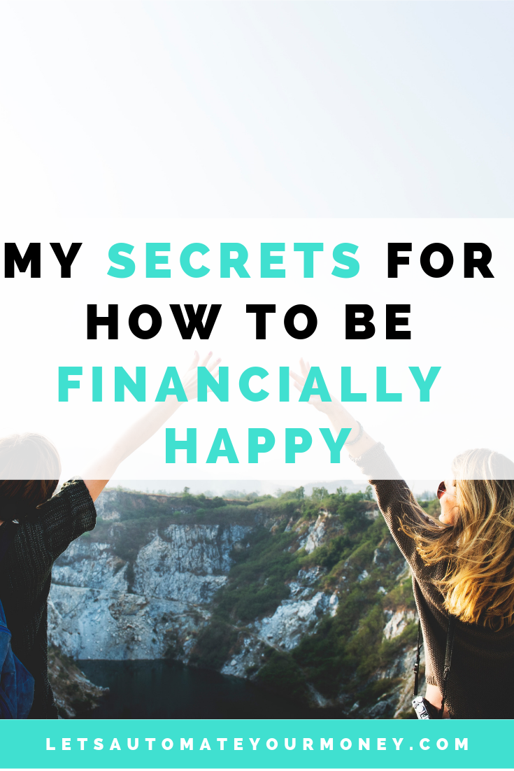 My Secrets for How to Be Financially Happy