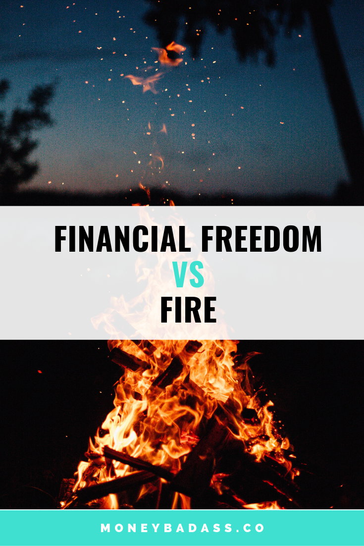 Financial Freedom VS FIRE