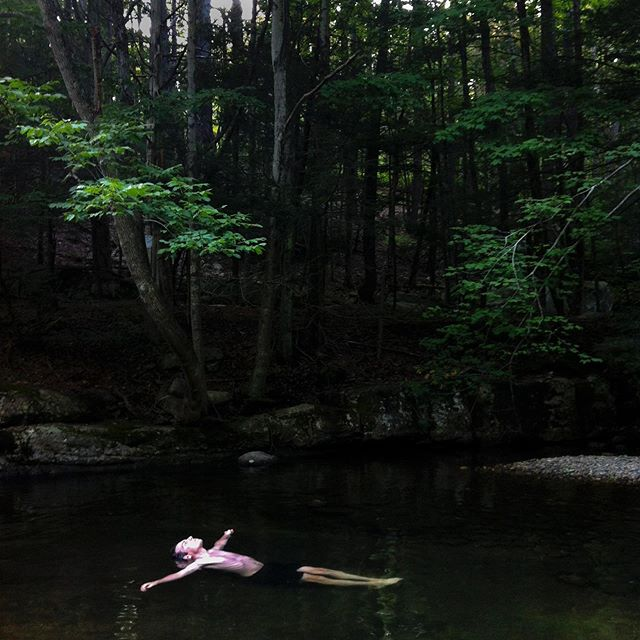 I live in the Hudson Valley of New York with my husband and daughter. When we moved here about 10 years ago, I wasn't sure if it would feel rural enough and if we would connect to the landscape. These images reflect the deep and personal relationship we have built with this beautiful place – our home. There's our favorite swimming hole, fishing streams and the rail trail we run and walk along almost every day. We are moving to Upstate NY this summer and I will miss these places and moments but look forward to discovering a connection in our new home.  @apple #ApplePartner #hudsonvalley #home #wallkillvalleyrailtrail @mattmoyerphoto @thephotosociety