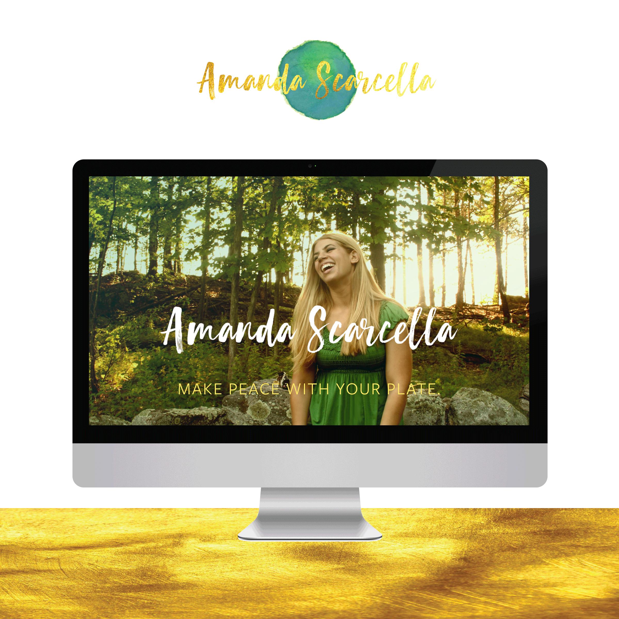 Amanda Scarcella Emotional Eating Coach - Go Live in 5 Web Design.png