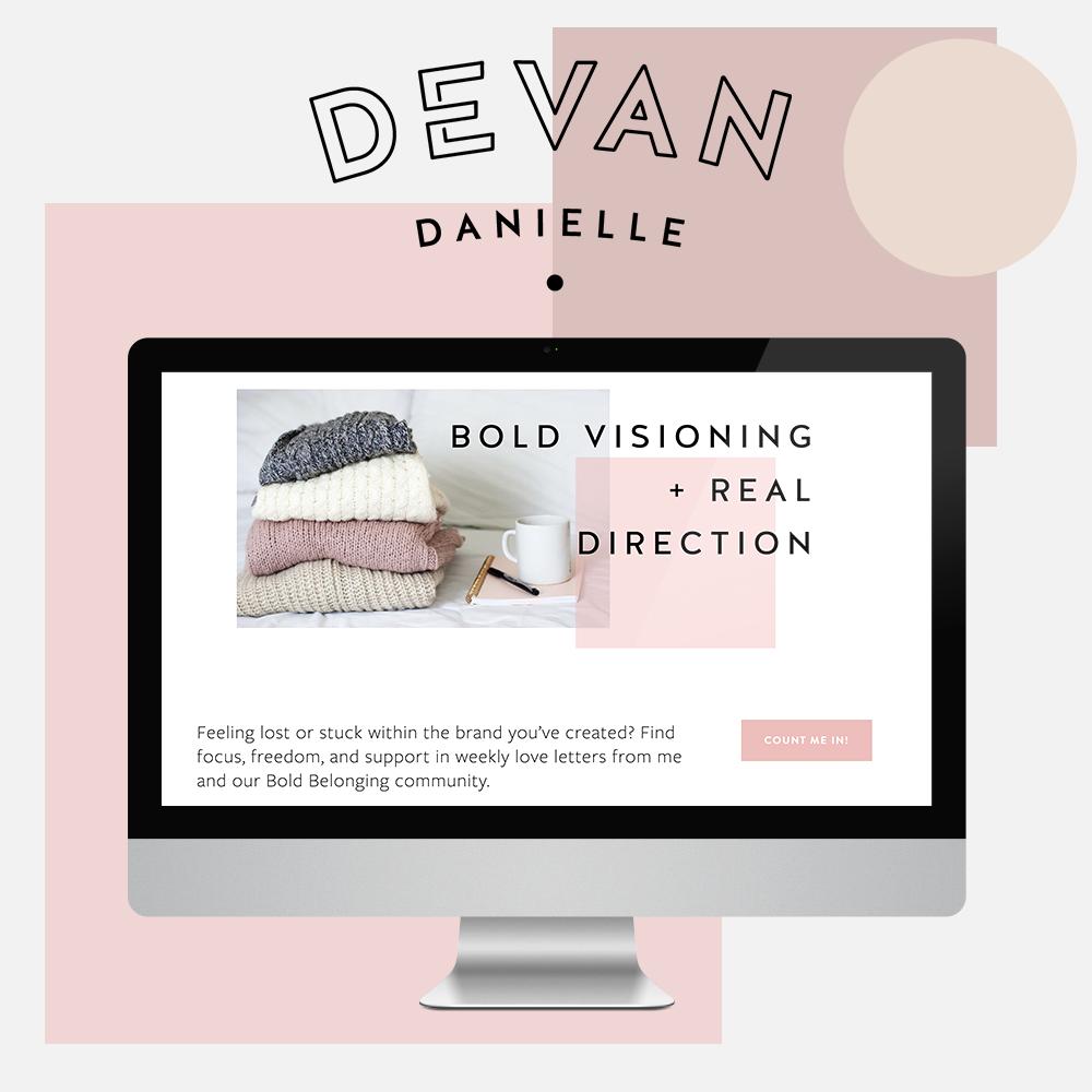 Devan Danielle branding web design - Social-portfolio.png