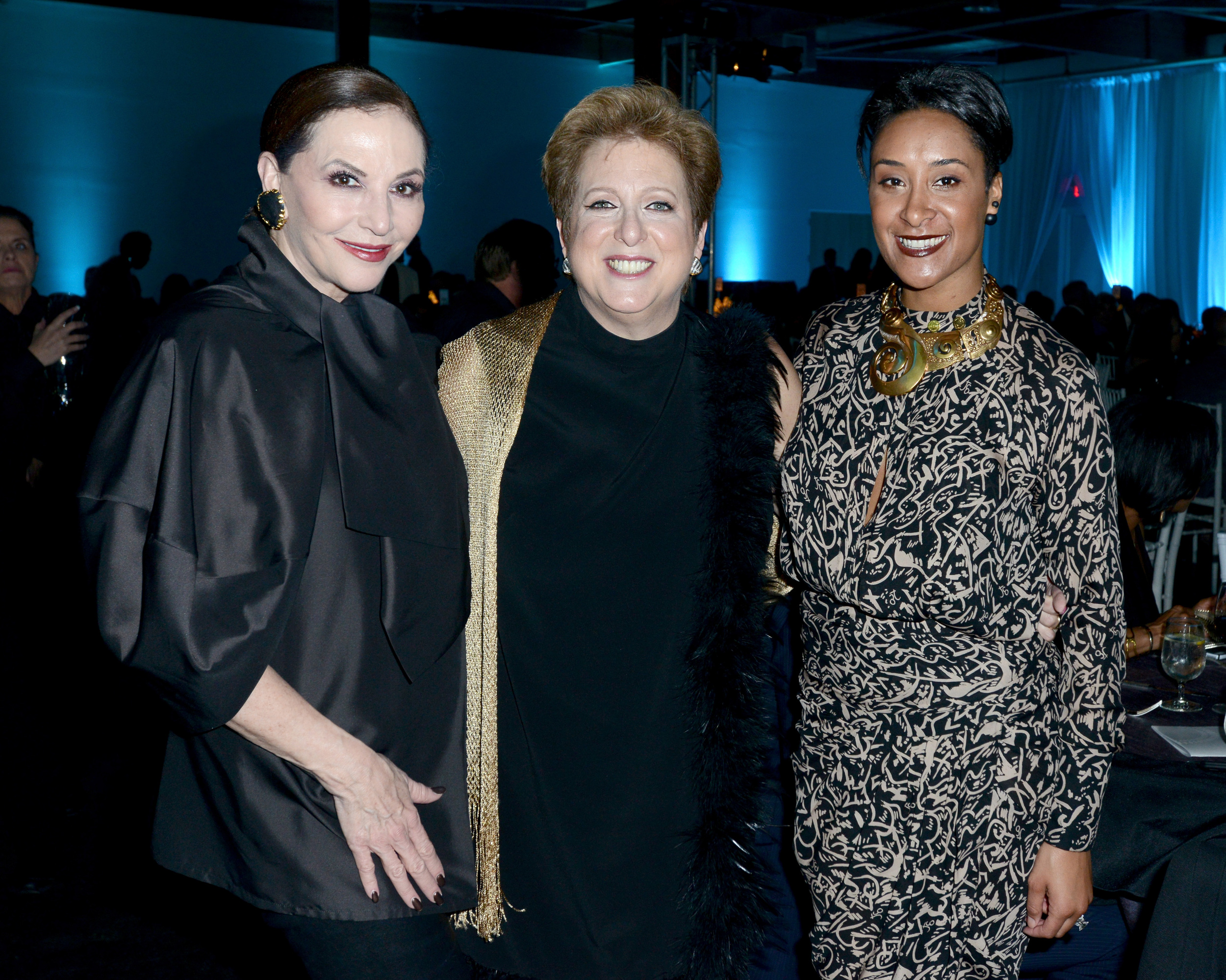 Jan Miller, President & CEO of UNICEF USA Caryl Stern, and Kimberly Chandler,  Photo by Cooper Neill/Getty Images for US Fund for UNICEF