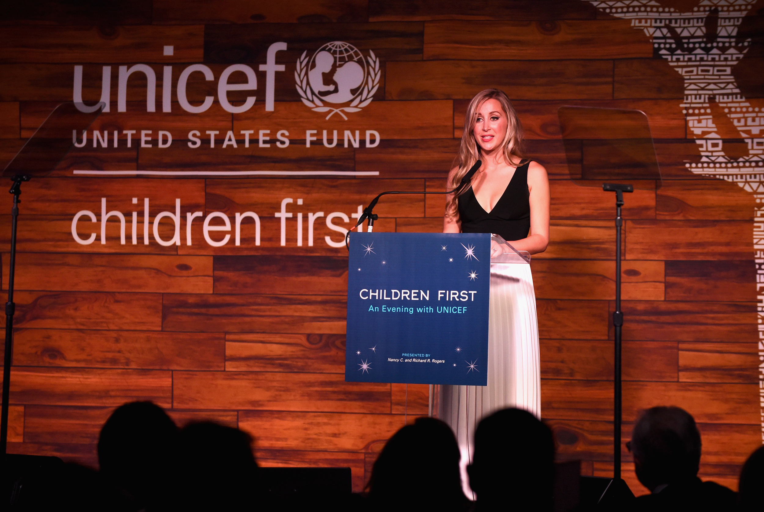UNICEF Next Generation National Development Committee Chair and recipient of the NextGen Champion for Children award Sterling McDavid. (Photo by Cooper Neill/Getty Images for U.S. Fund for UNICEF)