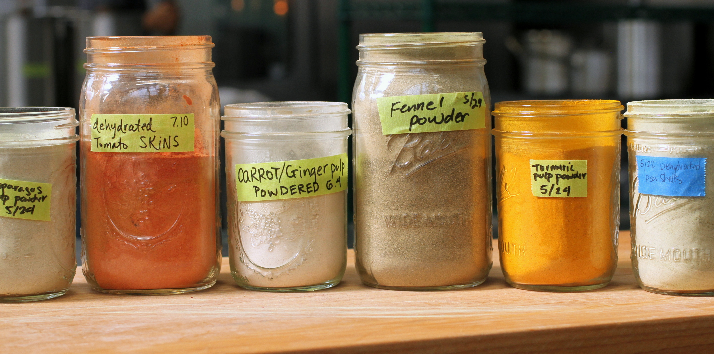 dehydrated vegetables, for a grain free alternative