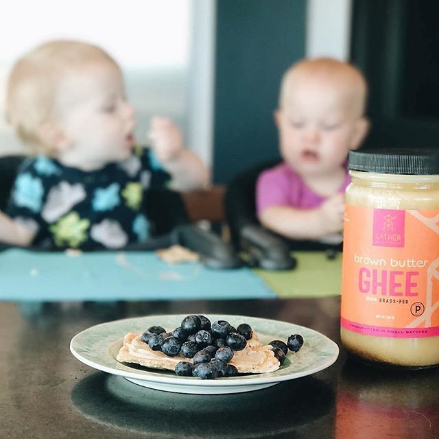 Babies and @yucancrunch What else could be better? #Repost @gathersuperfoods ・・・ #Repost @organicallyashley ・・・ Our favorite snack lately is this Yucan Crunch from @missionheirloom loaded with tons of brown butter ghee from @gathersuperfoods topped with blueberries freshly picked from the garden! . The babies are obsessed with the crunch (as am I) 😋it may be the single most addictive food I have had thus far and you don't have to feel guilty about it!🙌🏻 . #glutenfree #aip #paleo #breakfast #yucancrunch #brownbutterghee #gathersuperfoods #certifiedpaleo