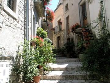 A beautiful walk through the town