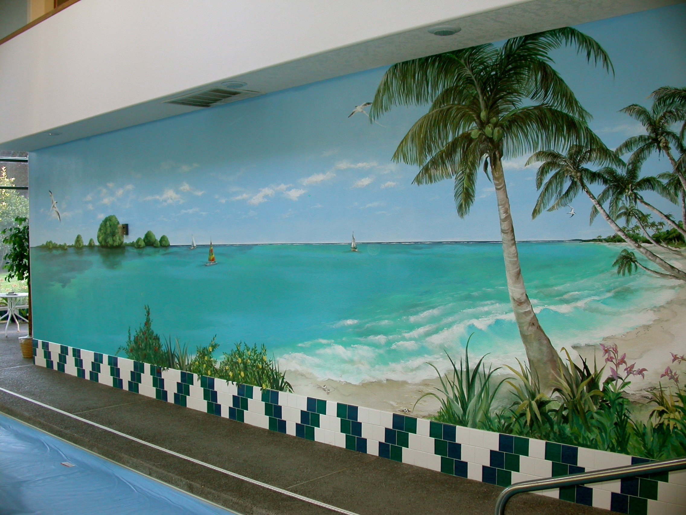 RESIDENTIAL MURALS    Learn more