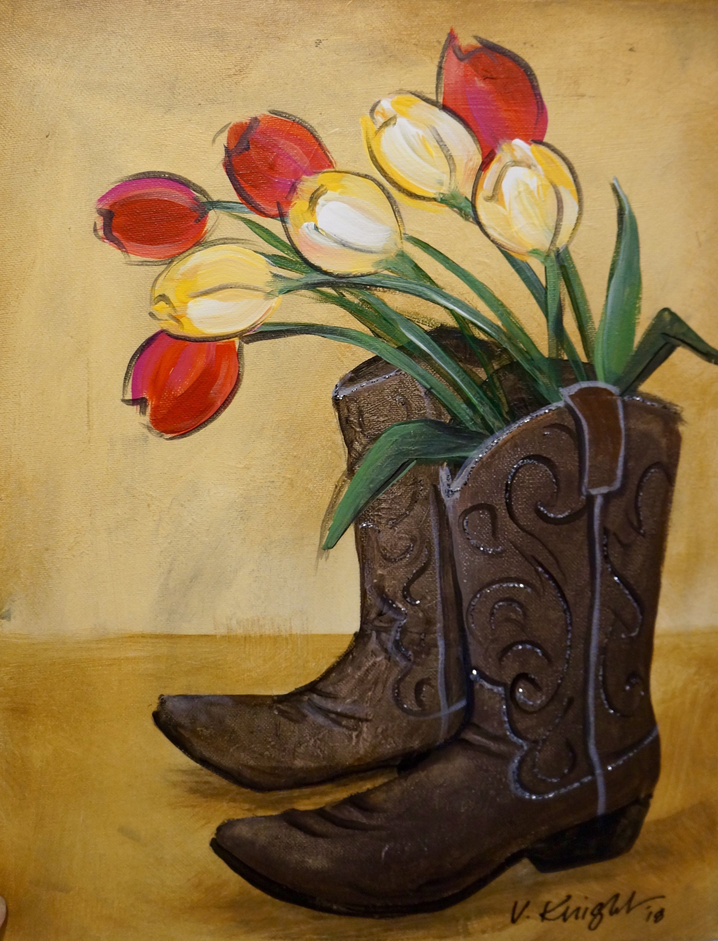 Bloomin' Boots