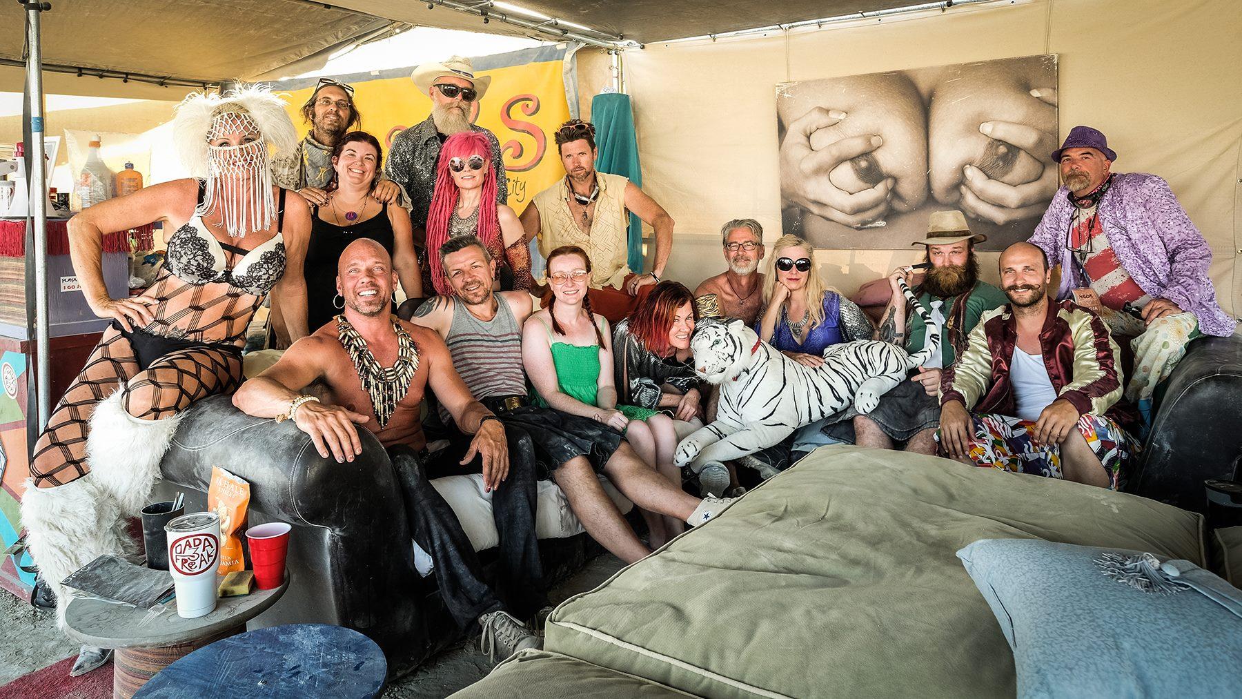 The 2017 crew at Dada 3