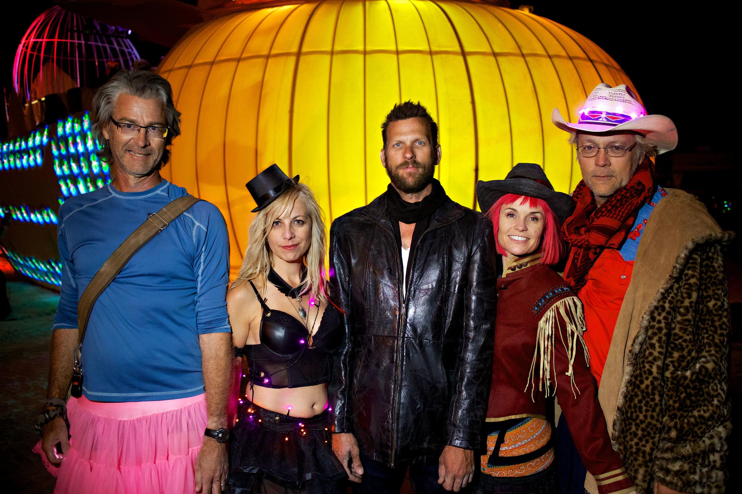 Scott, Chelle, Sean, Signe & Nick 2013