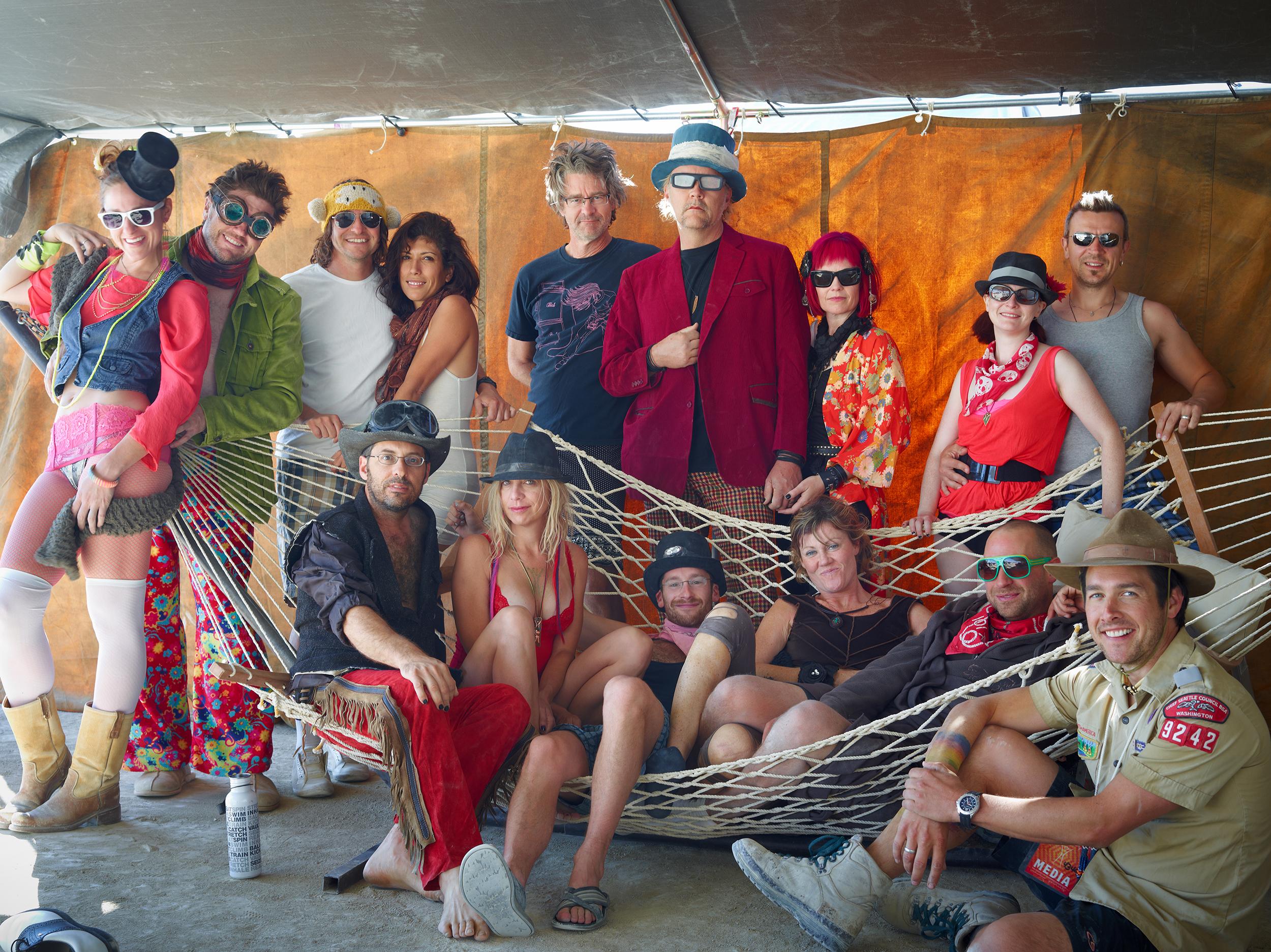The 2012 crew. Photo courtesy  RJ Kern