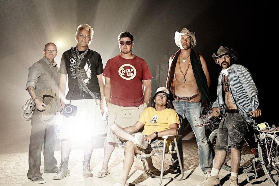 John Michael Cooper, Nick Adams, Becker, John Mireles, Joe Photo, Tony Bisson. 2011. Photo remotely captured by  JMC .
