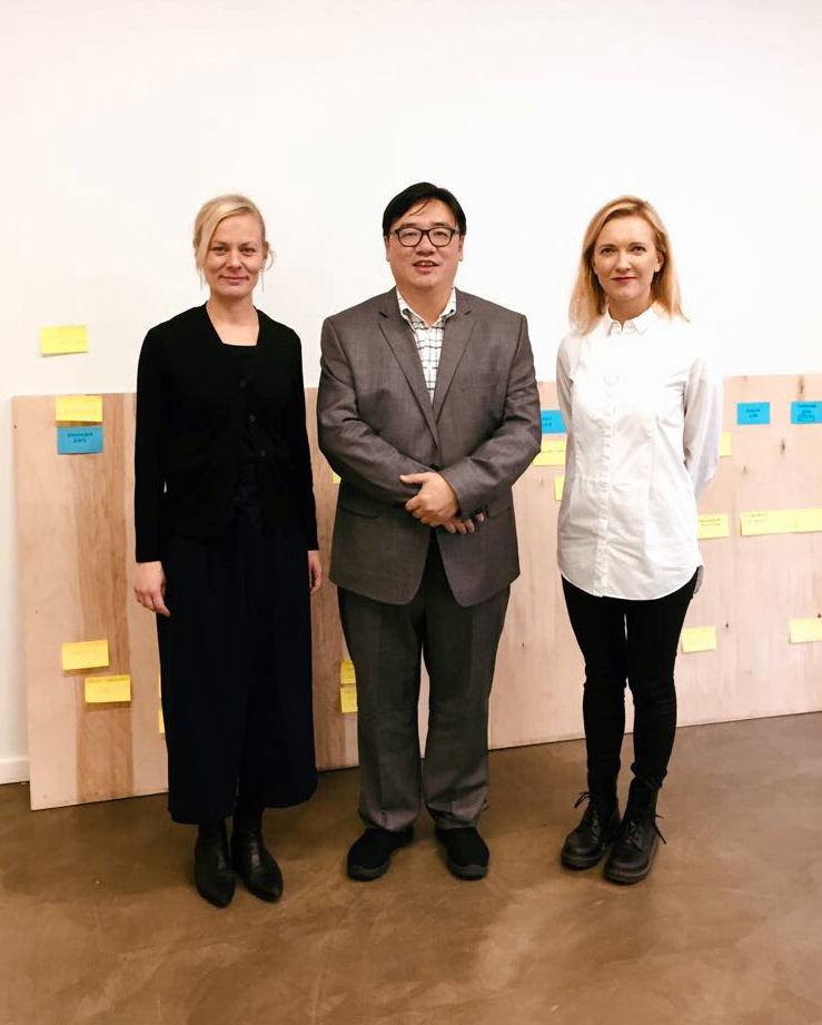 COO Taina Roth, Director Kam Ming Yu and Head of Design Anne Rusanen