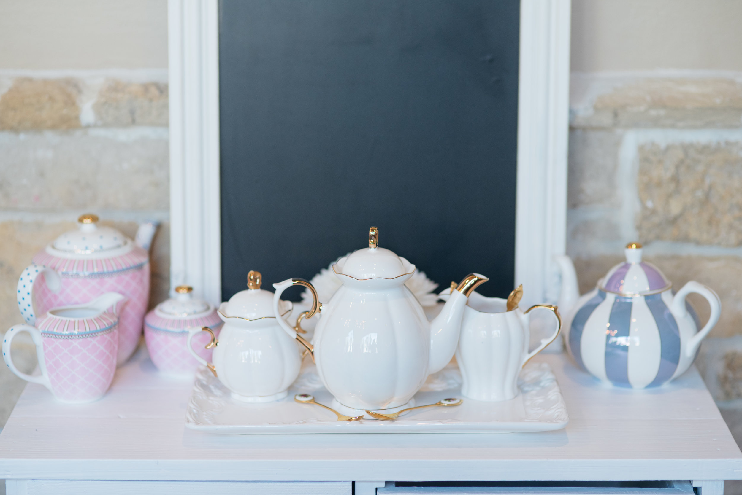 Vintage Inspired Teapots