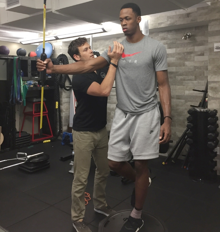 """Roderick Odom  Professional Basketball Player Paris, France  """"Thank you to the team at PHLEX NYC for making my body brand new. I am extremely fortunate to have worked with such a knowledgeable group of people!!"""""""
