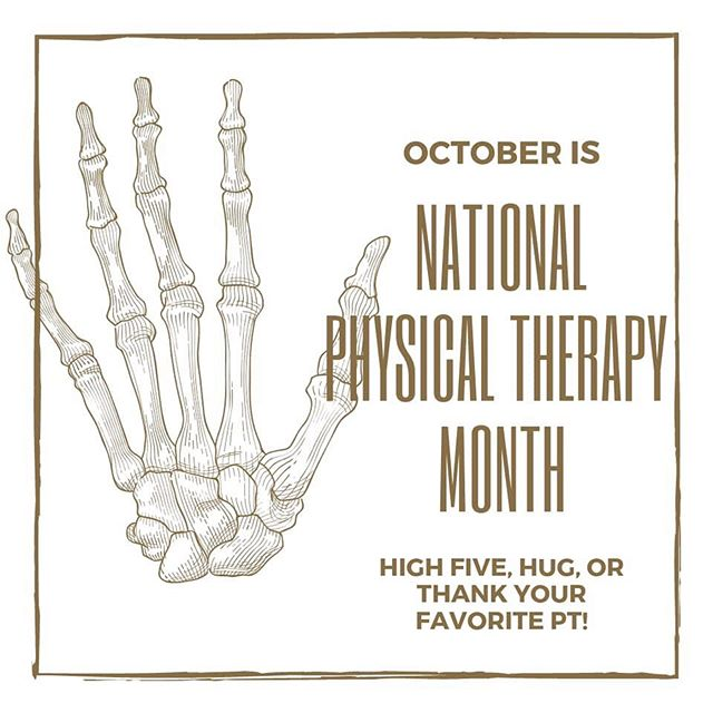 We'd love to hear about your favorite PT moments at PHLEX! We'll be featuring stories from our patients and staff all month - DM us or see Erica during your next visit to be featured during National Physical Therapy Month!
