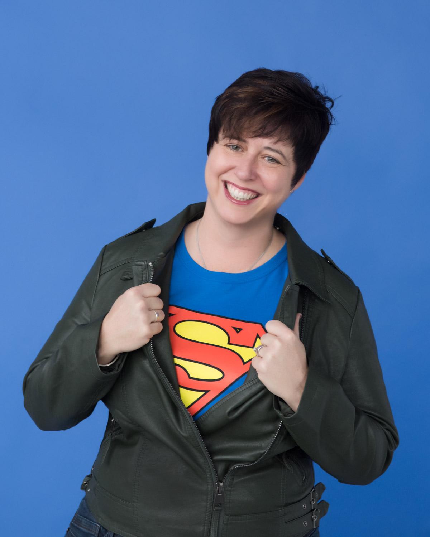 Super Jen to the rescue!