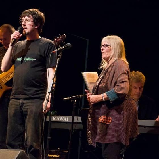 Ian Fairholm and Judy Dyble