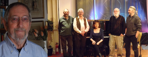 Michael, John, David, Carole, Dave, Gerry and Marion, who joined after the picture was taken.