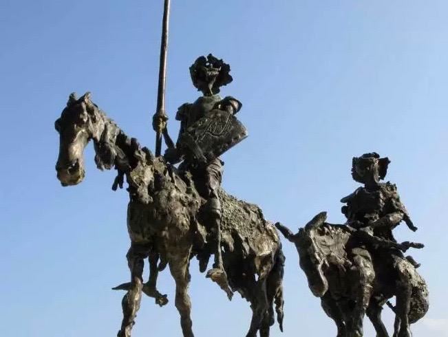Spartak Dermendjiev  |  bronze sculpture ,  bulgarian contemporary fine art ,  Don Quixote