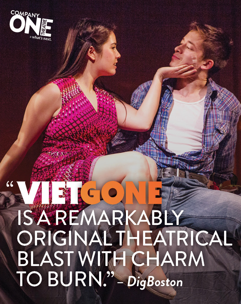 "- Dig Boston describes Christina as ""luminous"" in VIETGONE, ""one of the surest bets in town."""