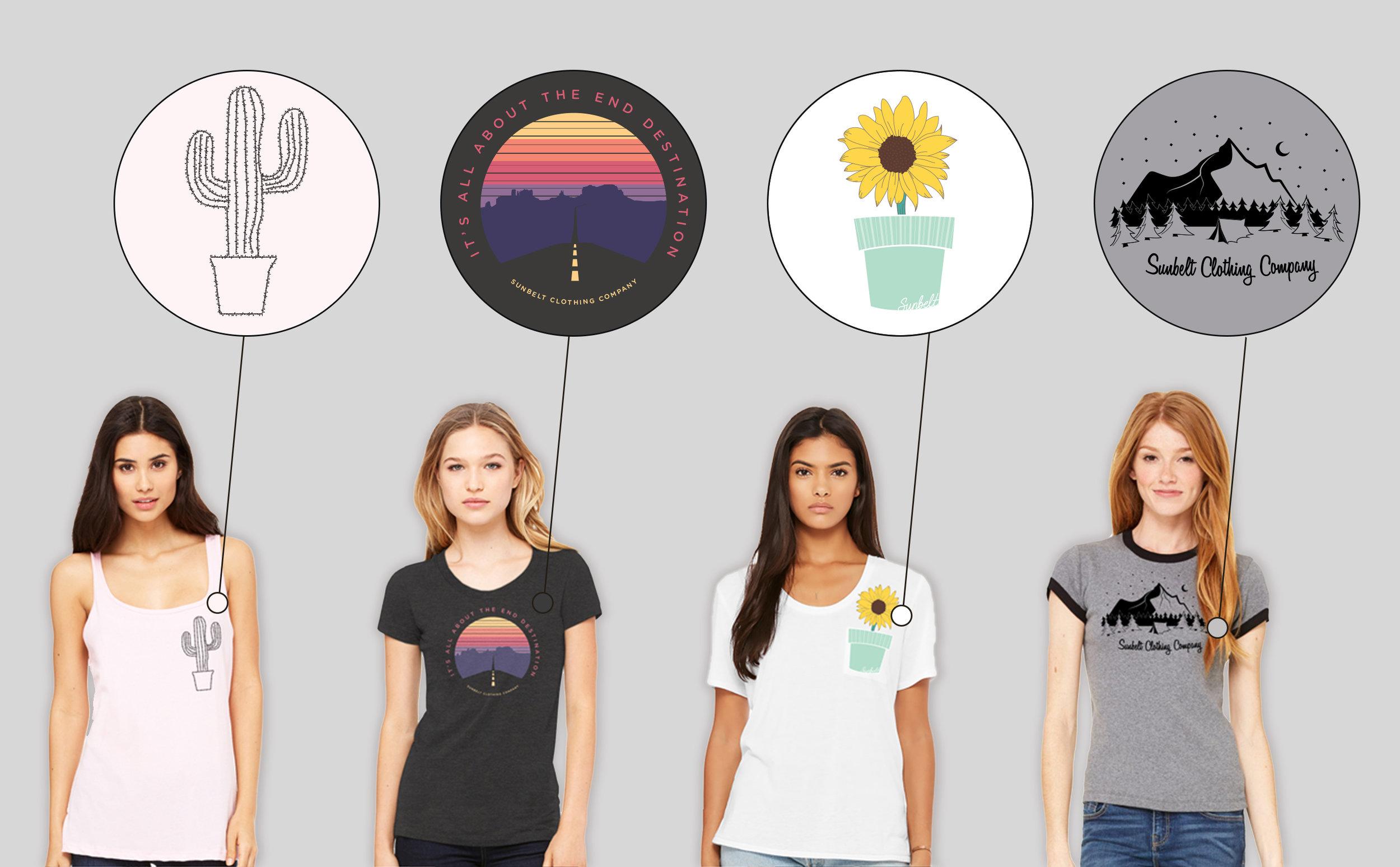 Sunbelt Clothing Shirt Design