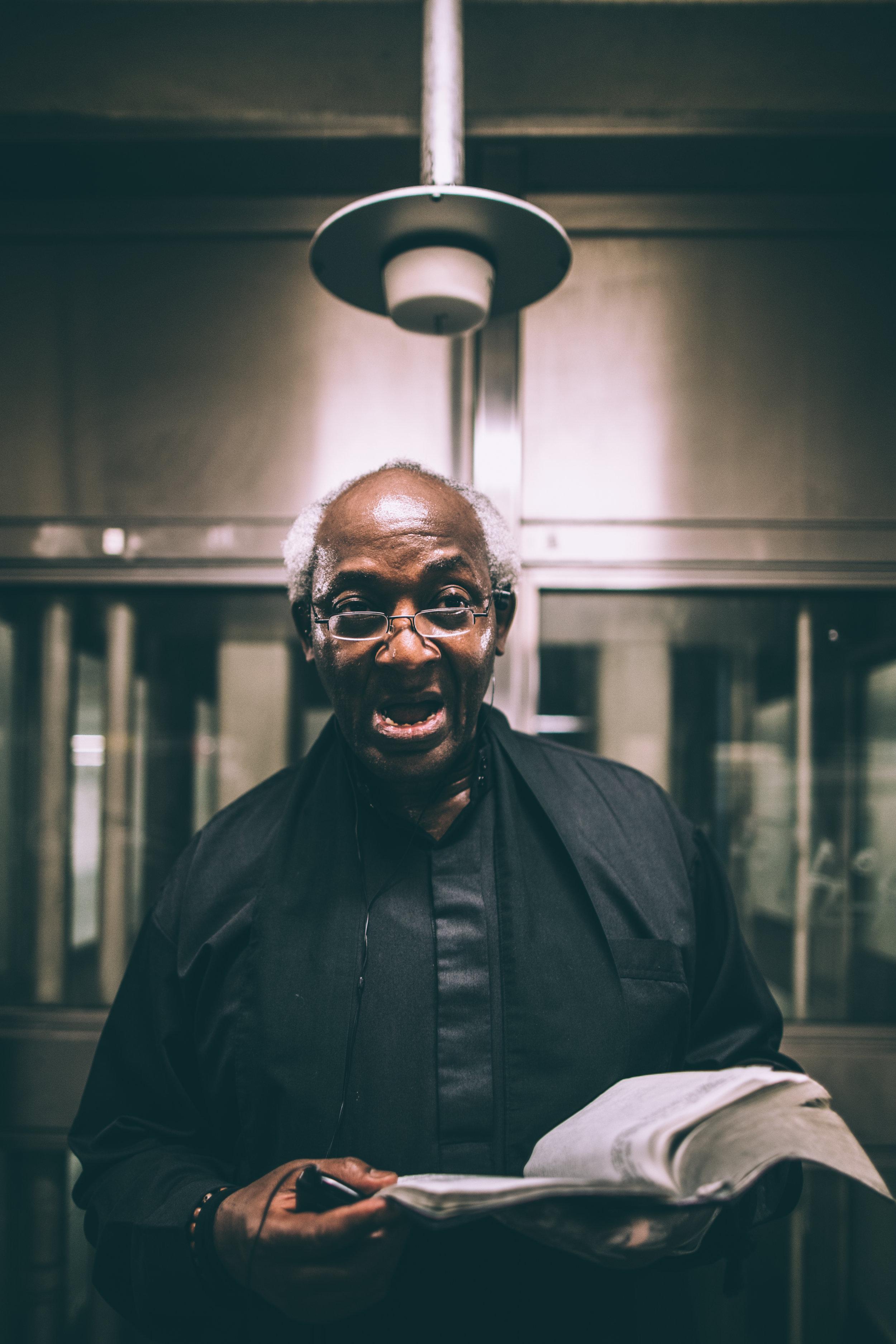 PREACHER MAN -- NYC SUBWAY 2017 / ORGNZD VISUALS BY LEXANDER BRYANT