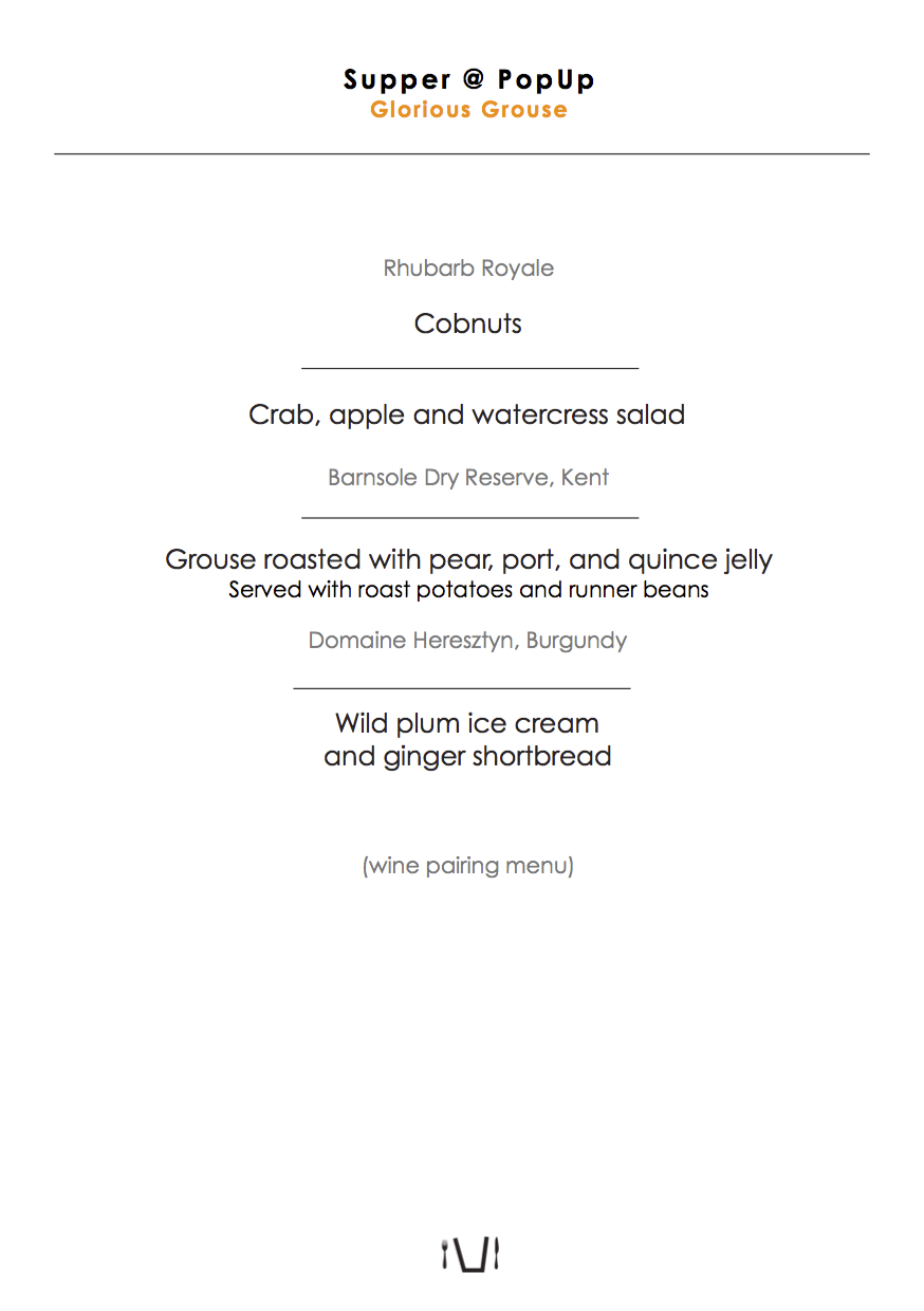 2015-09 supper popup printed table menu Glorious Grouse.png