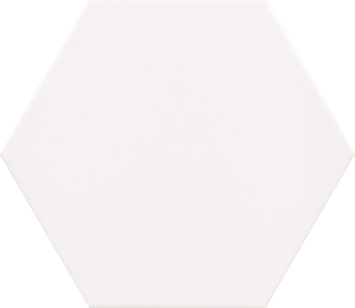 "Peronda Origami Blanco 10"" Hexagon  18 PC/CTN (10.76 SF);48 CTN/PLT"