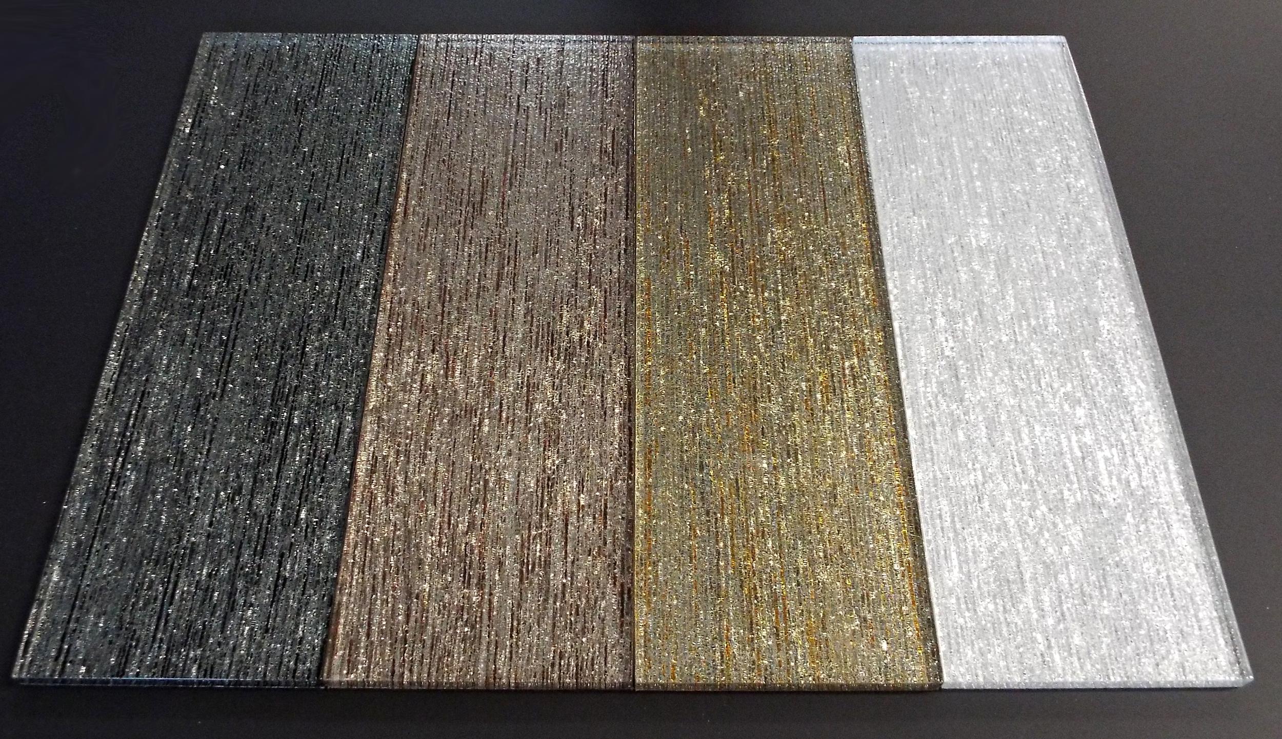TEXTURED - BLACK / BRONZE / GOLD / SILVER