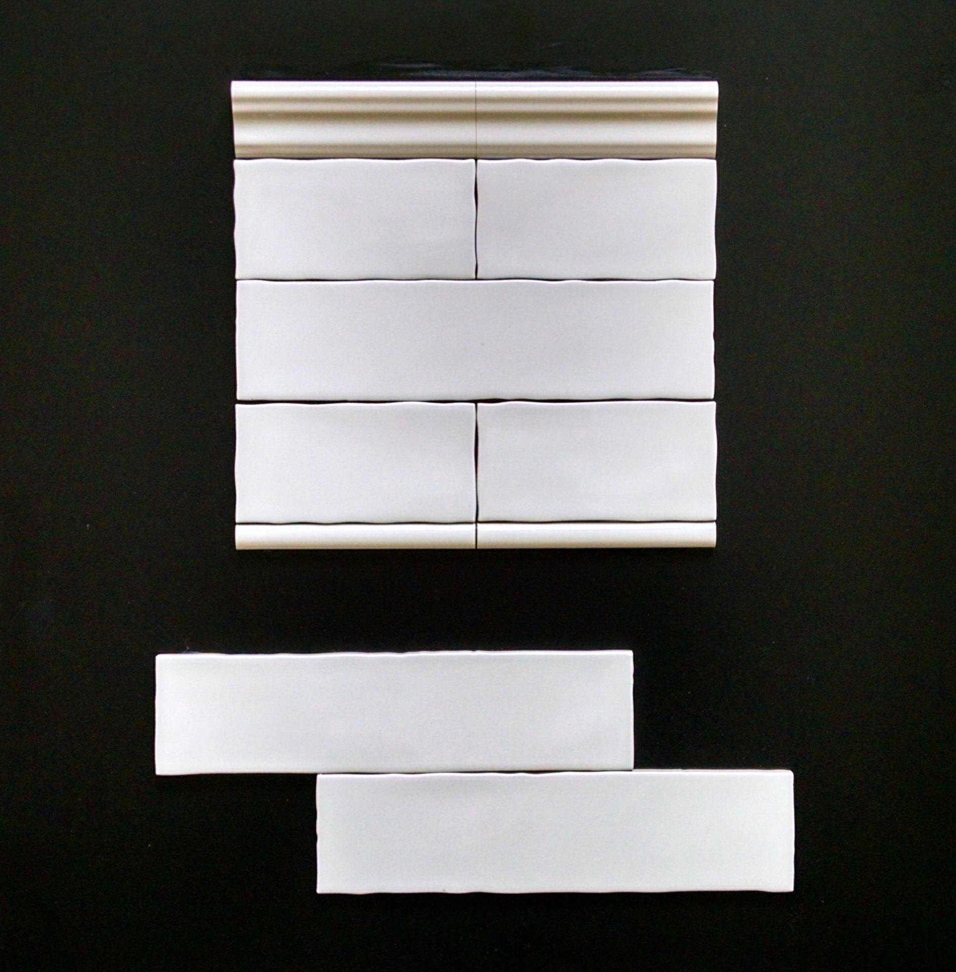 """METRO ASH   3""""X6"""" - 88 PC/CTN (10.66 SF); 80 CTN/PLT  3""""X12"""" - 44 PC/CTN (10.66 SF); 80 CTN/PLT  3""""X6"""" BULLNOSE  2""""X6"""" CHAIRRAIL  0.75""""X6"""" PENCIL"""