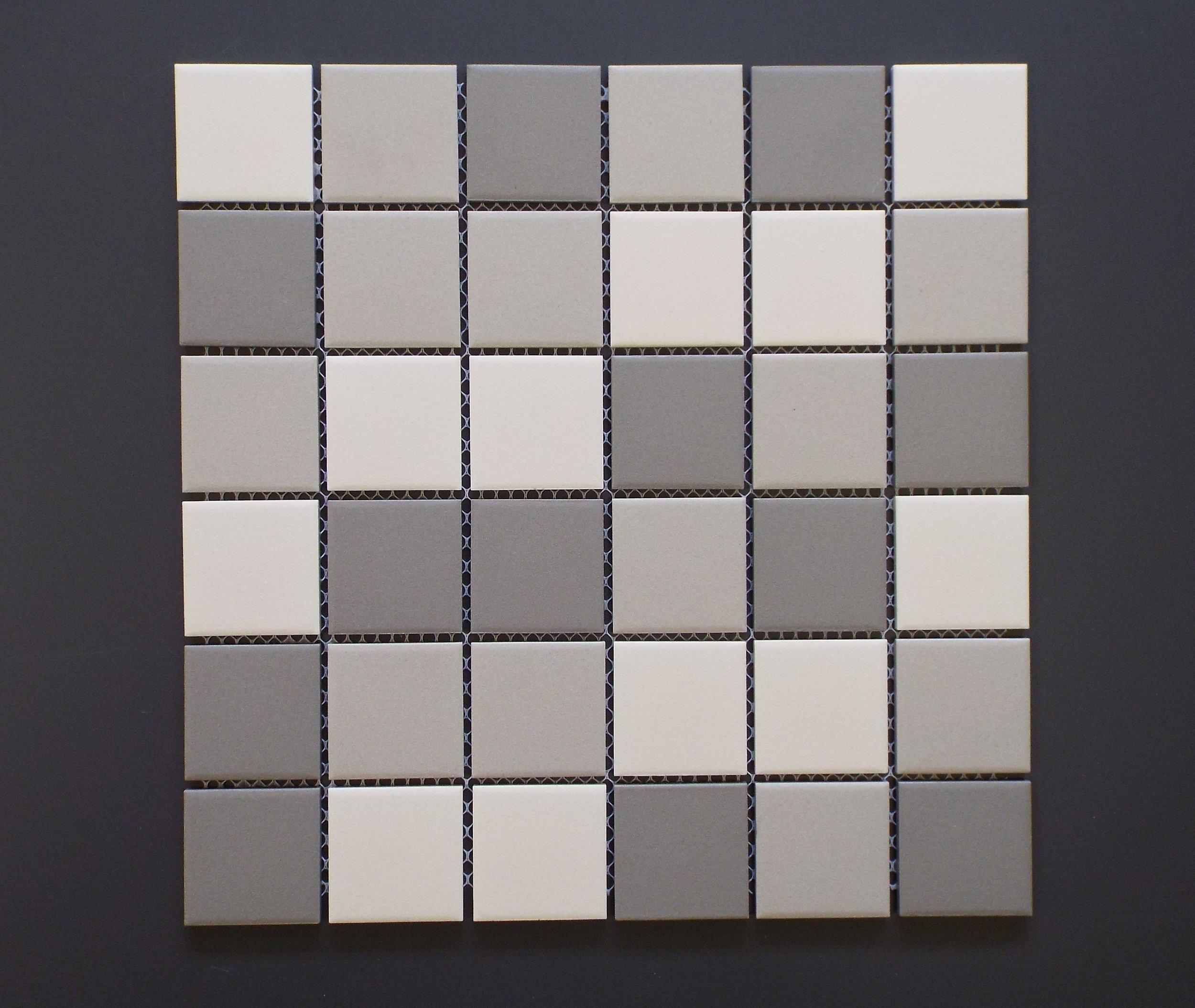 "UNGL 2X2MIXA - 2""X2"" Light Grey Mix   20 PC/CTN (20.16 SF);  54 CTN/PLT"
