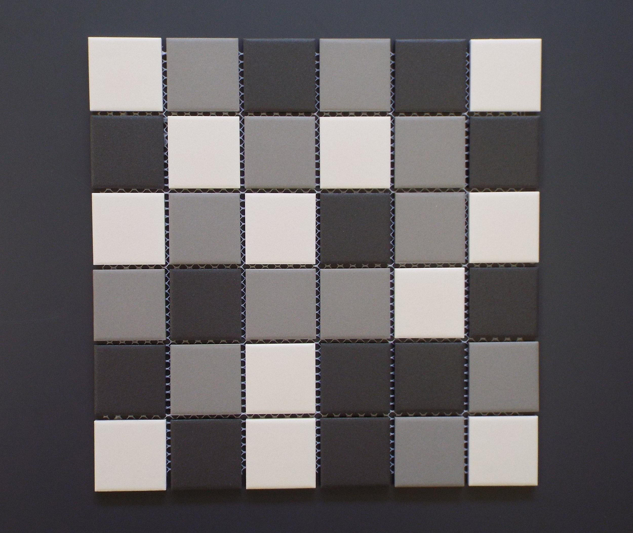 """UNGL 2X2MIXB - 2""""X2"""" Medium Grey Mix   20 PC/CTN (20.16 SF);  54 CTN/PLT"""