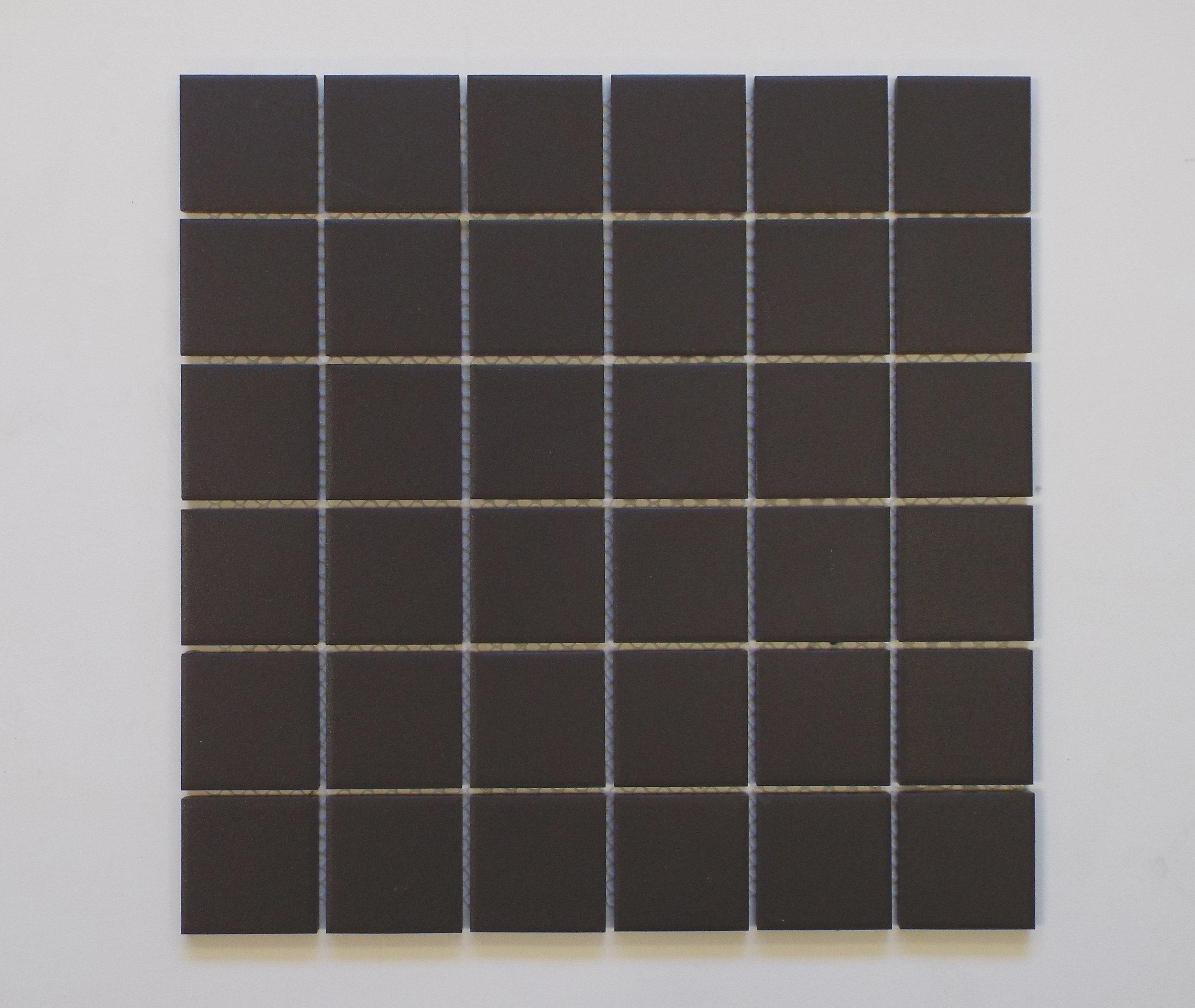 """UNGL BLACK - 2""""X2""""   20 PC/CTN (20.16 SF);  54 CTN/PLT"""