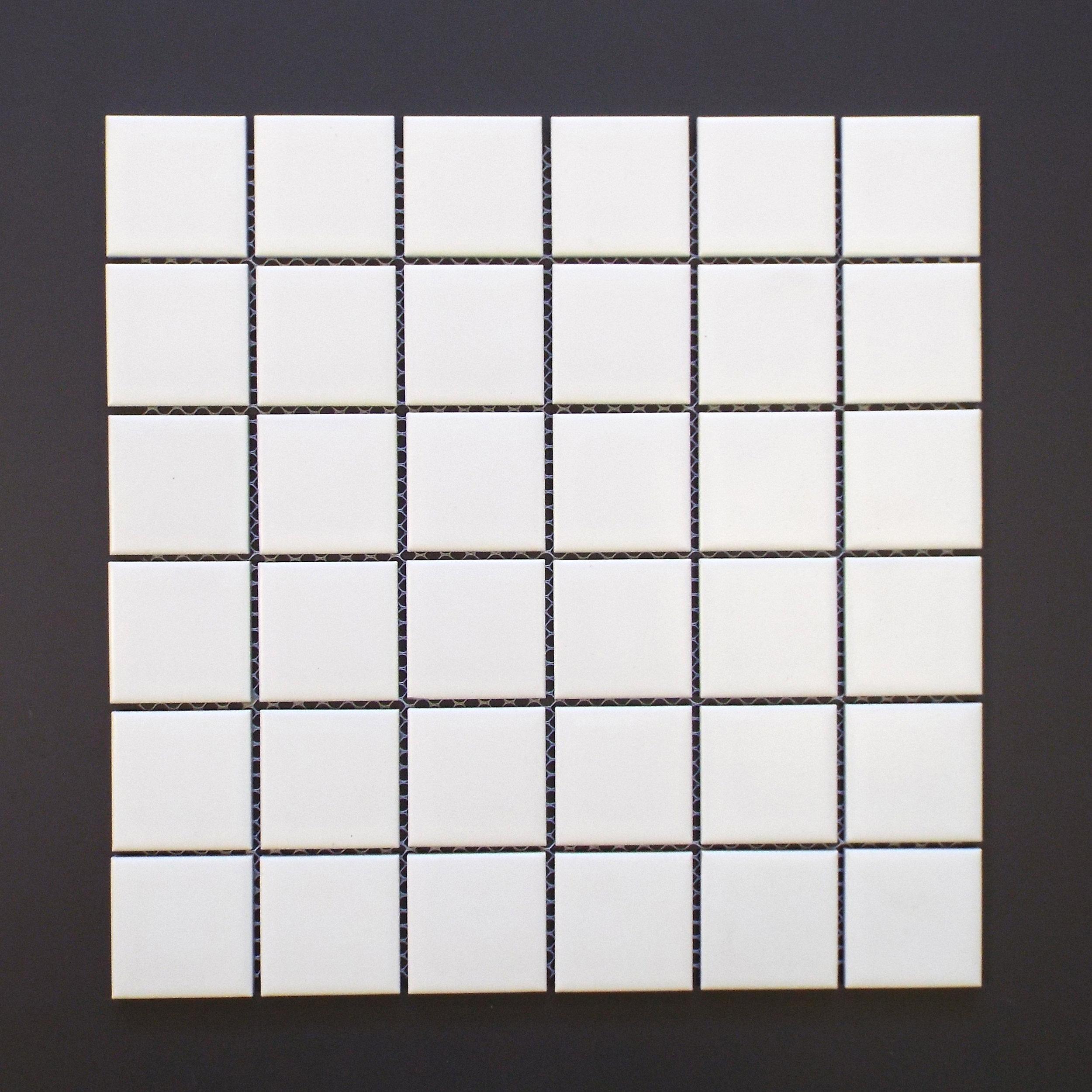 "SQ 1010HP - 2""X2"" Matte White   20 PC/CTN (20.16 SF); 54 CTN/PLT"