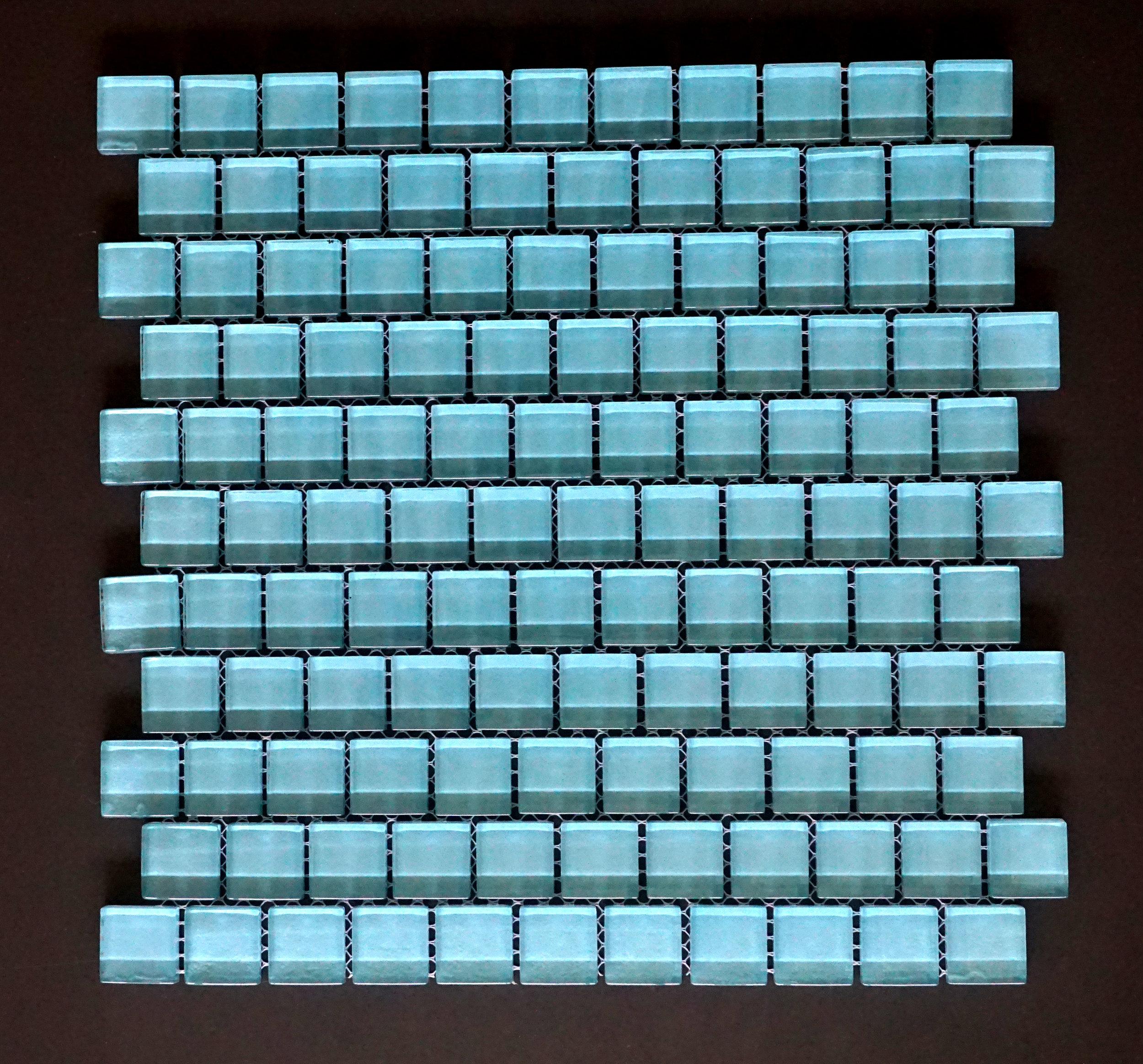 """TREND BLUE1X1 - Blue 1""""X1"""" Brick   11 PC/CTN (10 SF);  72 CTN/PLT"""