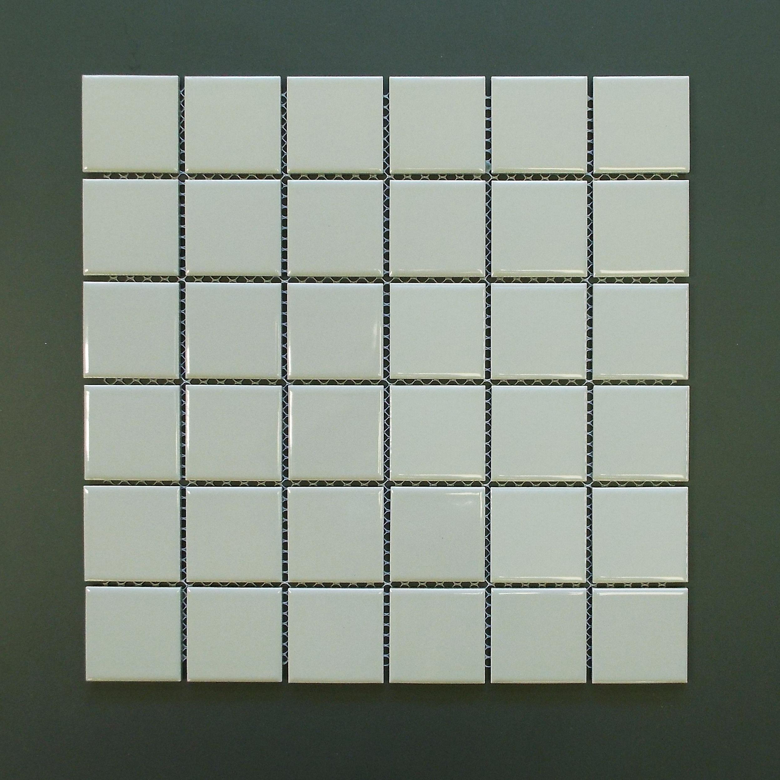 "SQ 6464HP - 2""X2"" Shiny Grey   20 PC/CTN (20.16 SF); 54 CTN/PLT"