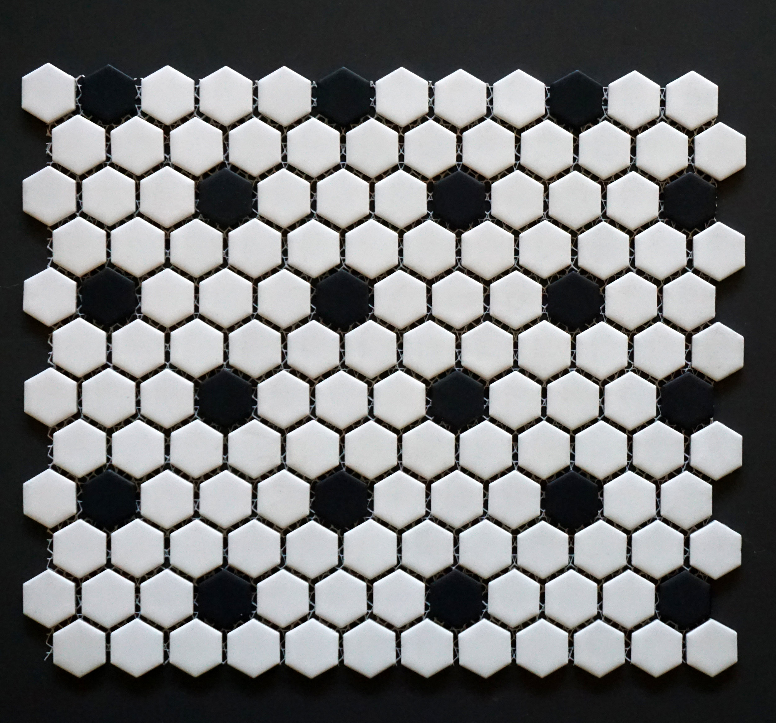 "HEX 1015 - 1"" Rosette Pattern Hexagon   20 PC/CTN (  21.8 SF);   54 CTN/PLT"