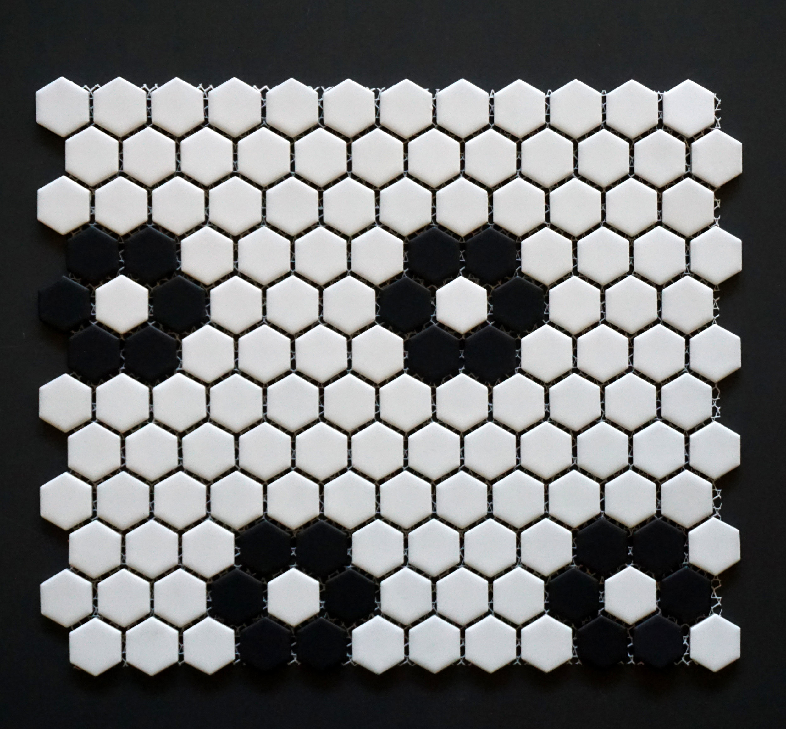 "HEX 1025 - 1"" Florette Pattern Hexagon   20 PC/CTN (  21.8 SF);   54 CTN/PLT"