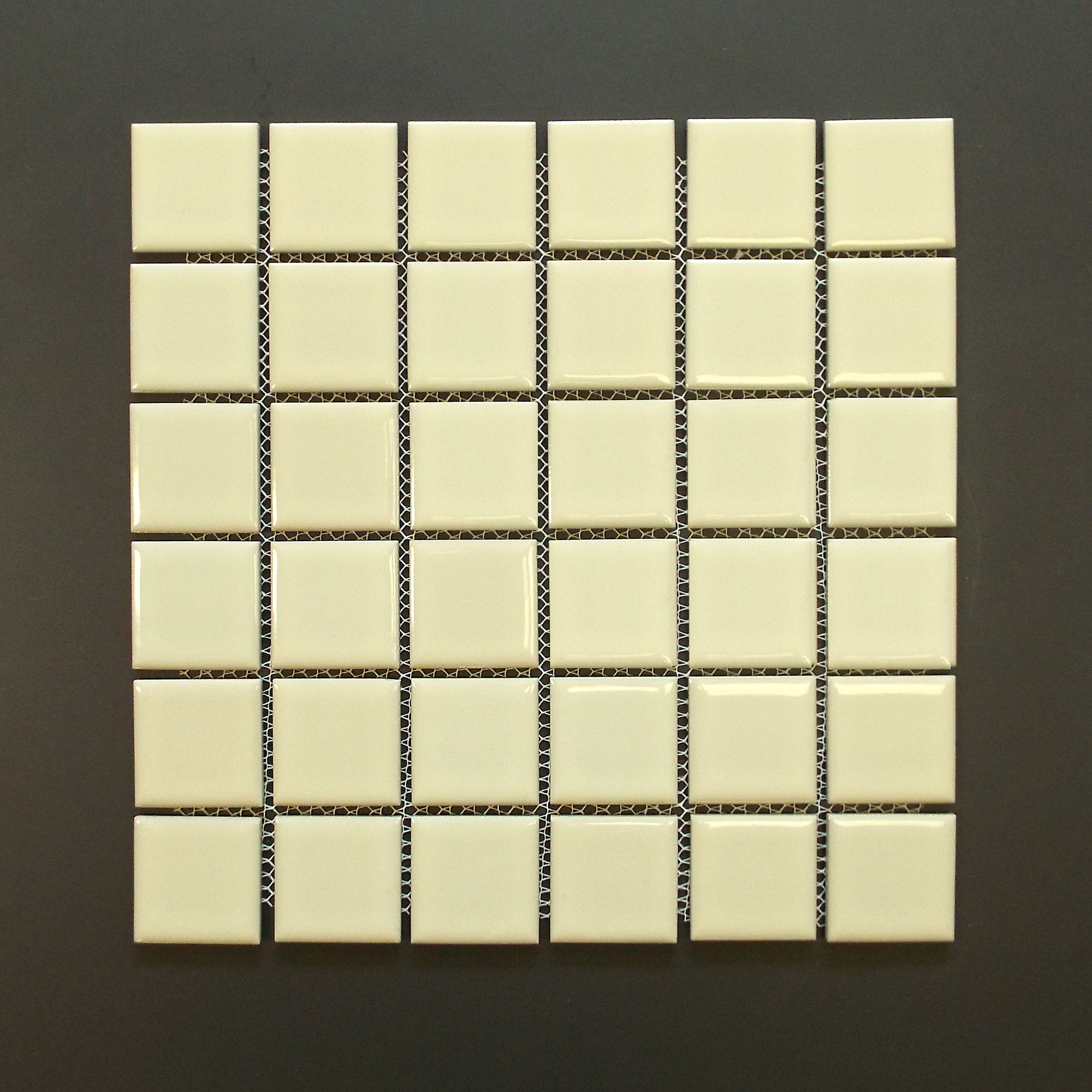 "SQ 117 - 2""X2"" Shiny Almond   30 PC/CTN (32.64 SF); 36 CTN/PLT  discontinued - confirm availability"
