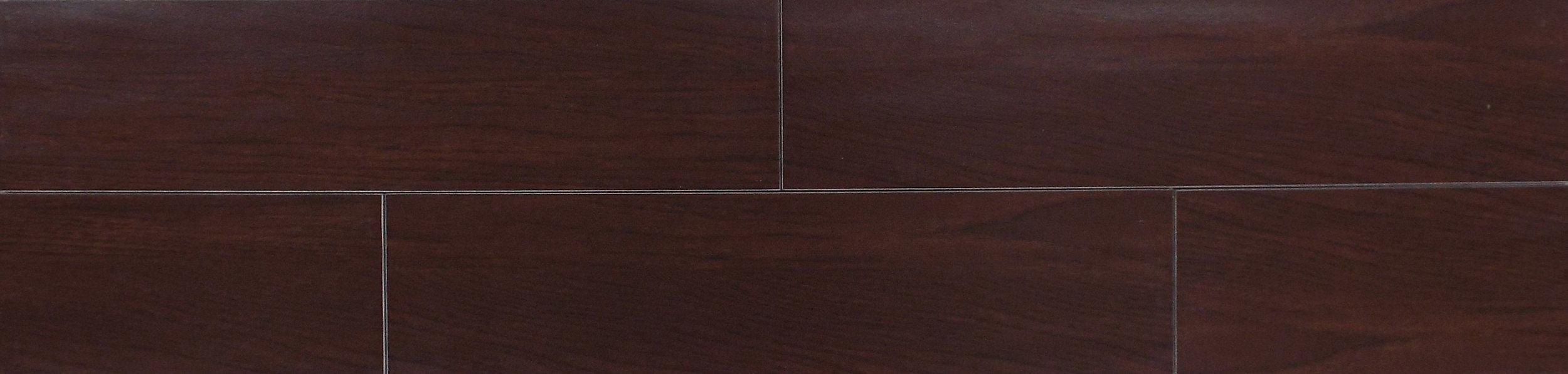 """MADERA 6534 - 6""""X24"""" MAHOGANY    14 PC/CTN (13.56 SF);  48 CTN/PLT"""