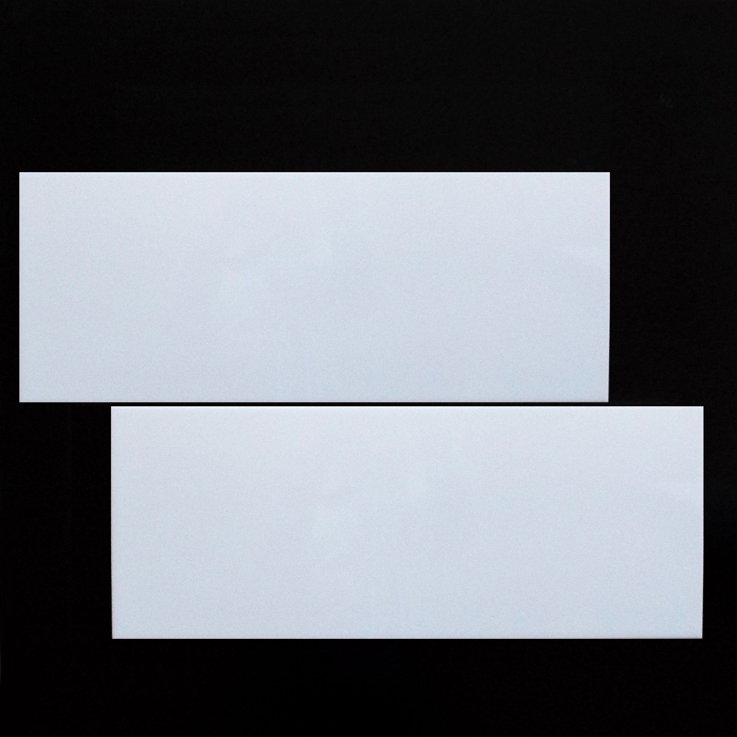 """8""""X20"""" (10mm thickness)WHITE, GLOSSY - 12 PC/CTN (12.92 SF); 64 CTN/PLT  3""""X20"""" BULLNOSE - SPECIAL ORDER"""
