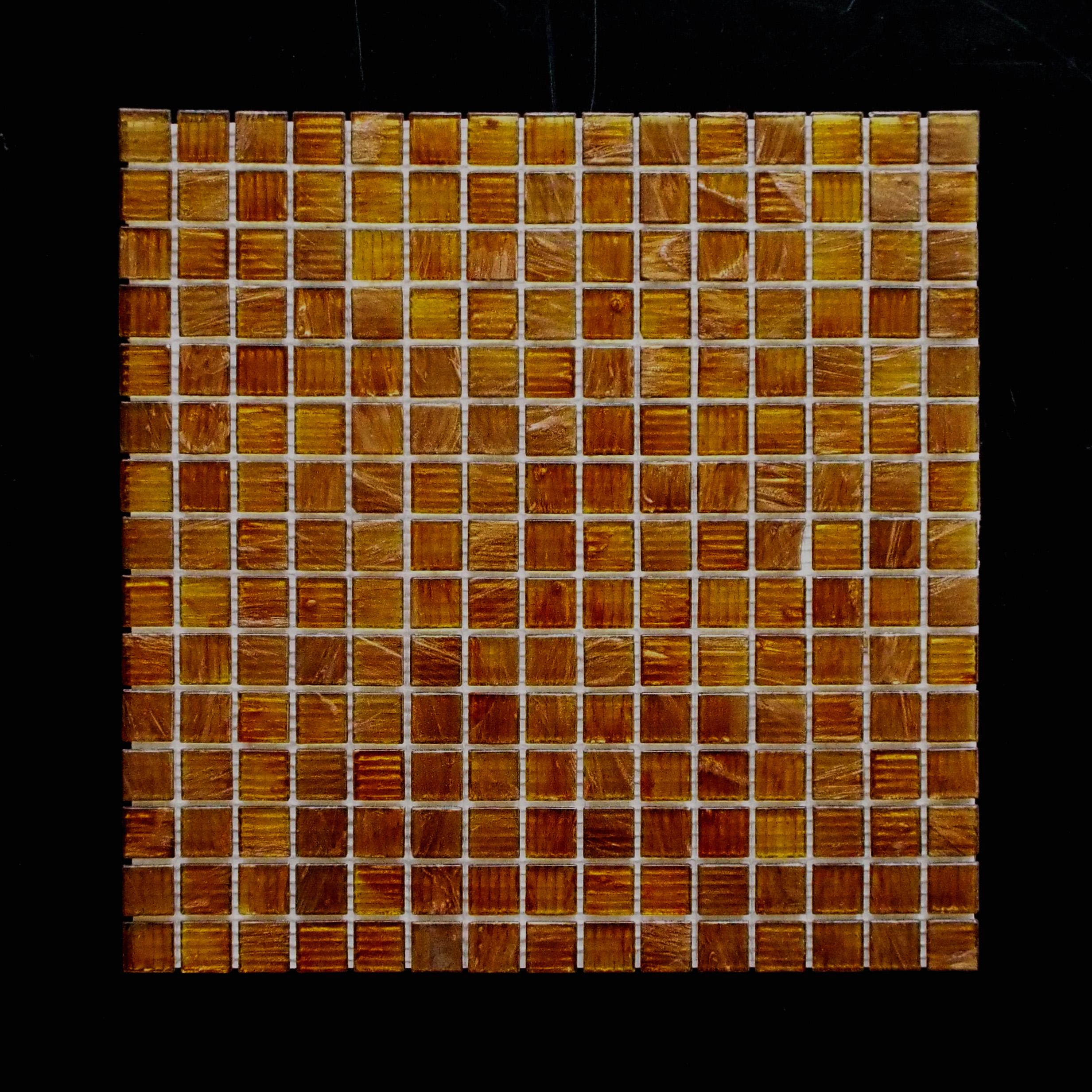 "GOLD DUST - BRONZE     3/4""X3/4""X1/16""   20 PC/CTN (23.03 SF);  72 CTN/PLT"