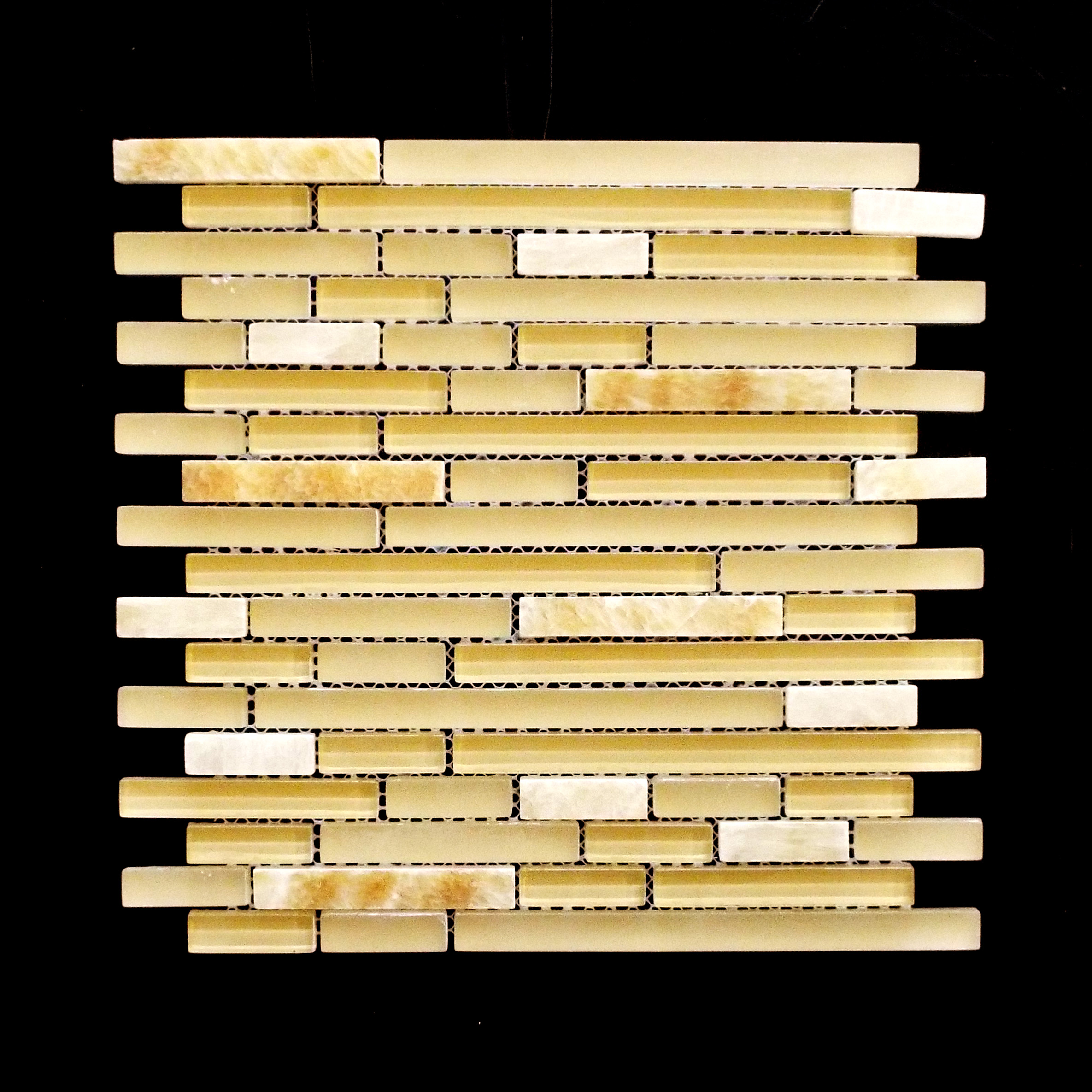 Discontinued-   MANHATTAN HONEY BRICK POLISHED LISTELLO  11 PC/CTN (10.76 SF); 72 CTN/PLT