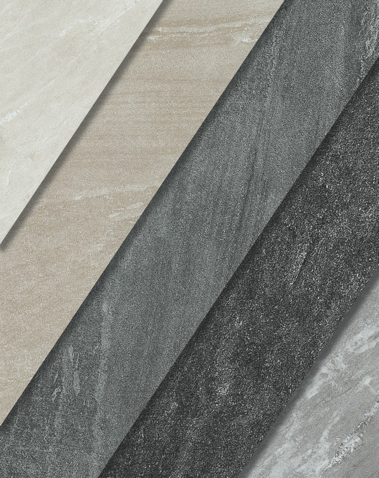 Cardoso Stone which is a kind of Sandstone features 36 different faces and is available in 5 different colors and 3 sizes. Porcelain that is a resistant surface for both indoors and outdoors.